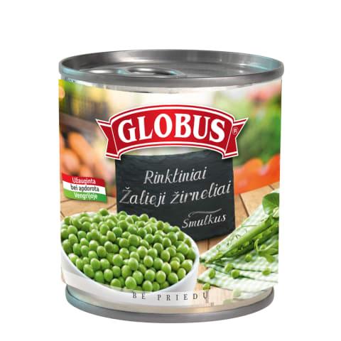Žalieji žirneliai GLOBUS, 400g