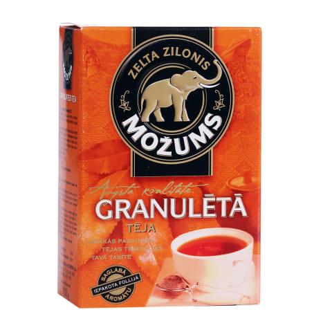 Melnā tēja Možums granulētā 100g