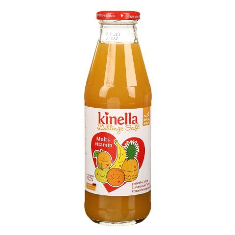 Įvairių vaisių sultys KINELLA, 4 mėn., 500 ml