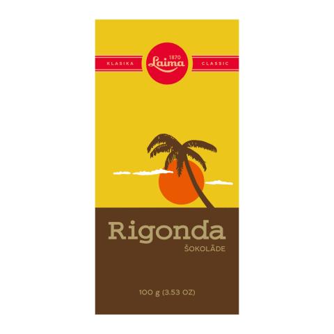 Šokolāde Laima Rigonda 100g
