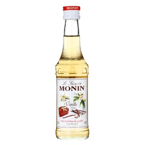 Vanilės skonio sirupas MONIN, 0,25l