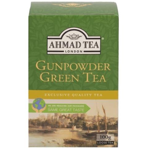 Zaļā tēja Ahmad Tea Gunpowder 100g