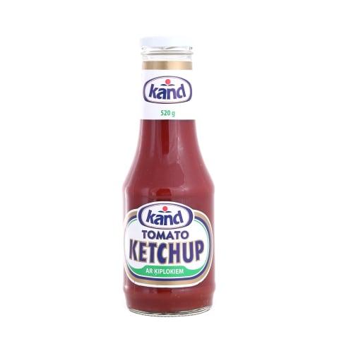 Kečups Kand ar ķiplokiem 520g