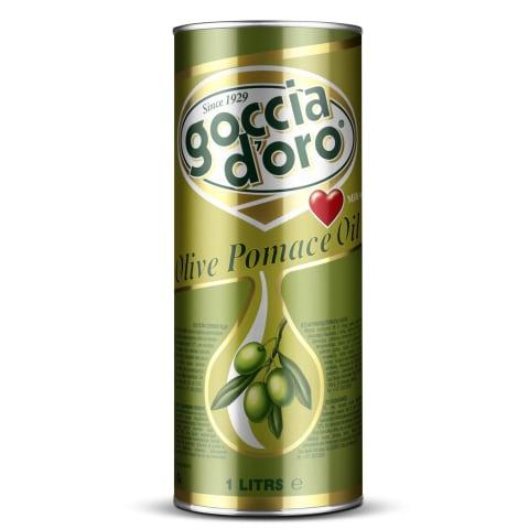 Olīvu izspaidu eļļa Goccia D`Oro Pomace 1l
