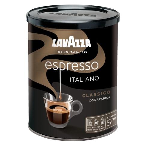 Maltā kafija Lavazza espresso met. kārbā 250g