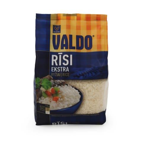 Rīsi Valdo ekstra fasēti 1kg