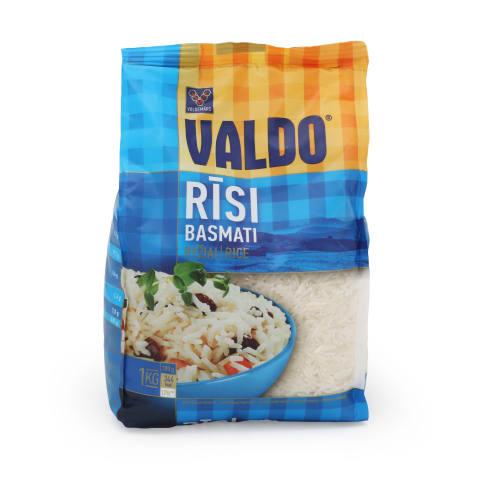 Rīsi Valdo basmati fasēti 1kg