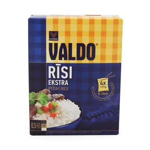 Rīsi Valdo 4x125g