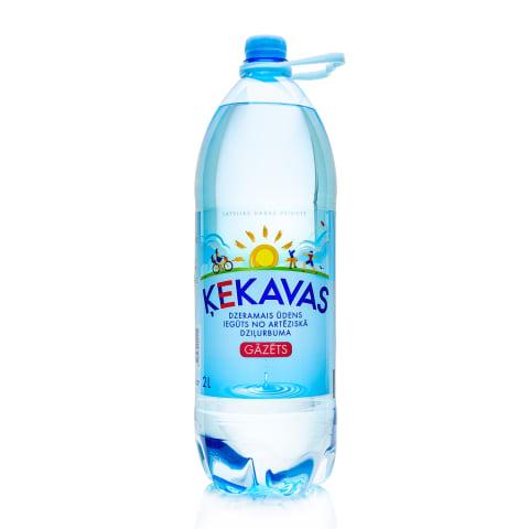 Dzeramais ūdens Ķekavas gāzēts 2l