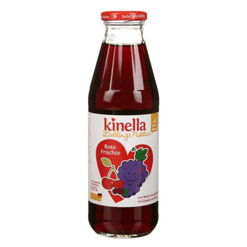 Dzēr.nektārs Kinella 4 augļu 7mēn. 500ml