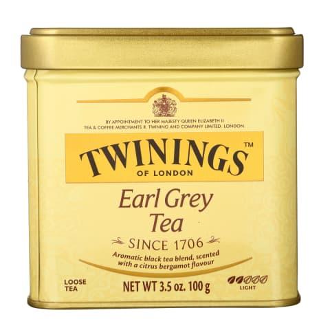 Juodoji arbata TWININGS EARL GREY, 100g