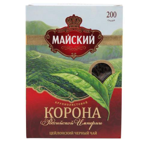 Melnā tēja Korona Rossiskoj Imperii 200g