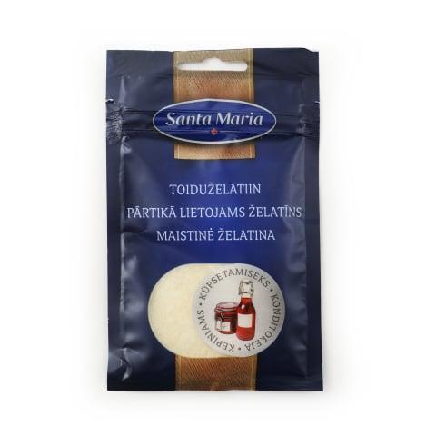 Pārtikā lietojams želatīns Santa Maria 25g