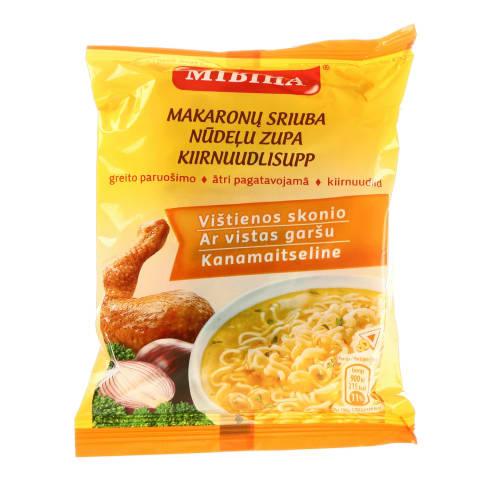 Vištienos skonio makaronų sriuba MIVINA, 50g