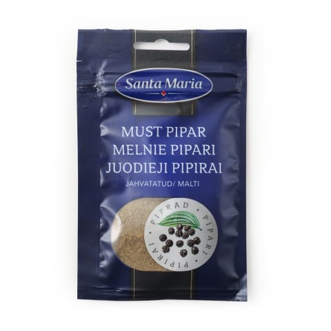 Melnie pipari Santa Maria malti 16g