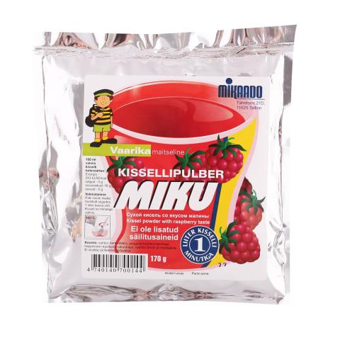 Kissellipulber vaarikamaitseline Mikaado 170g