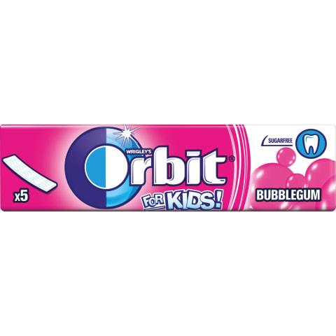 Košļājamā gumija Orbit bērniem 13g
