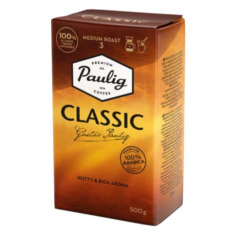 Kohv jahvat. filterkannu Paulig Classic 500g