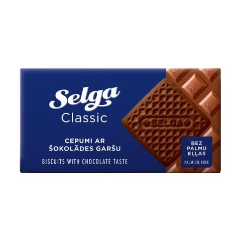 Cepumi Selga ar šokolādes garšu 180g