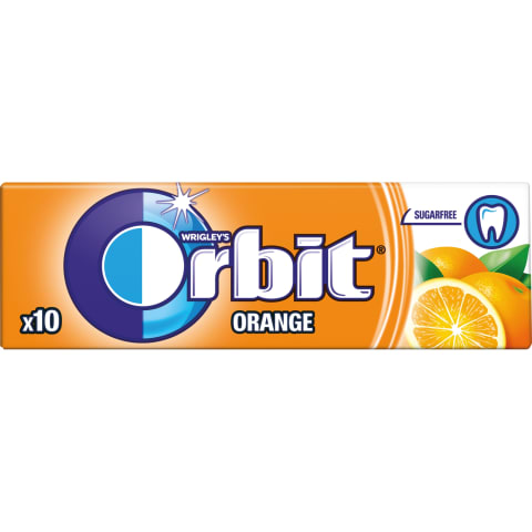Košļājamā gumija Orbit Orange 14g