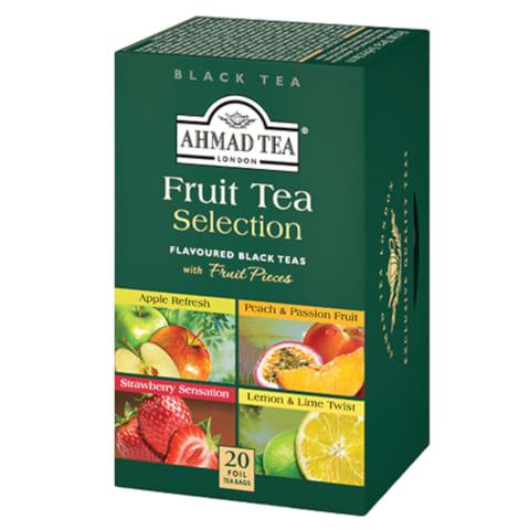 Melnā tēja Ahmad Tea Fruit Selection 20x2g