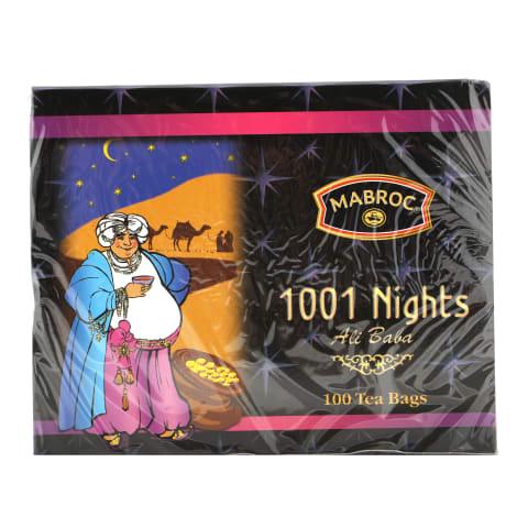 Melnā tēja Mabroc 1001 Nights 100x2g