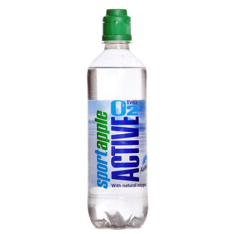 Dzēriens Active O2 Natural ābolu gāzēts 0,5l