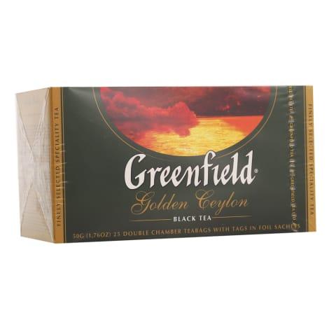 Tee must Golden Ceylon Greenfield 25x2g