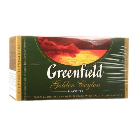 Juodoji arbata GREENFIELD Golden Ceylon