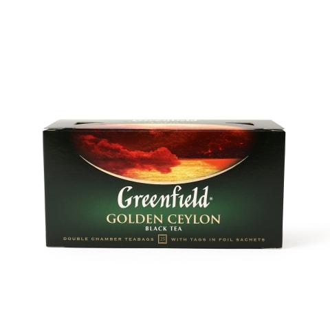 Melnā tēja Greenfield Golden Ceylon 25x2g