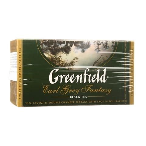 Juod. arbata GREENFIELD EARL GREY F., 25 pak.