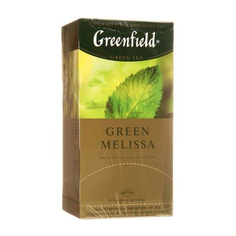 Žal. arbata GREENFIELD GREEN MELISSA, 25 pak.