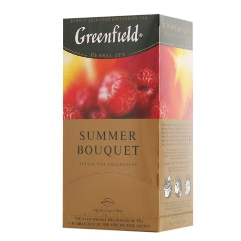 Tee ürdi Summer Bouquet Greenfield 25x2g