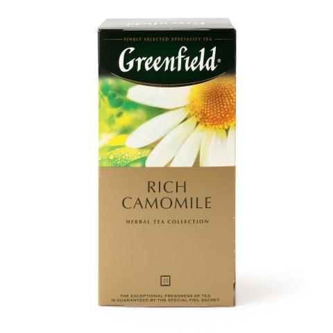 Zāļu tēja Greenfield kumelīšu 25x1,52g