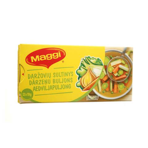 Daržovių sultinys MAGGI, 12 kub. x 10g, 120g