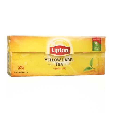 Juodoji arbata LIPTON YELLOW LABEL, 50g