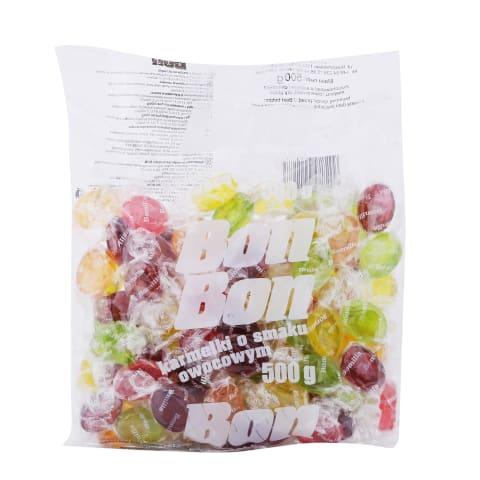 Karameles Bon Bon ar augļu garšu 500g