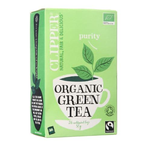Ekologiška žalioji arbata CLIPPER 50g