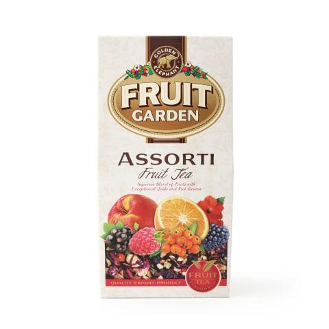Augļu tēja Fruit Garden asorti 80g