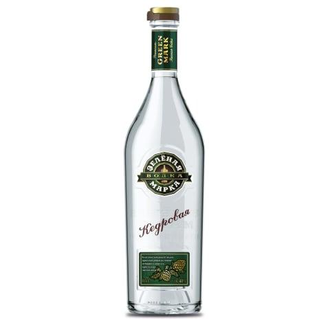Degvīns Zelenaja Marka Kedrovaja 40% 0,7l