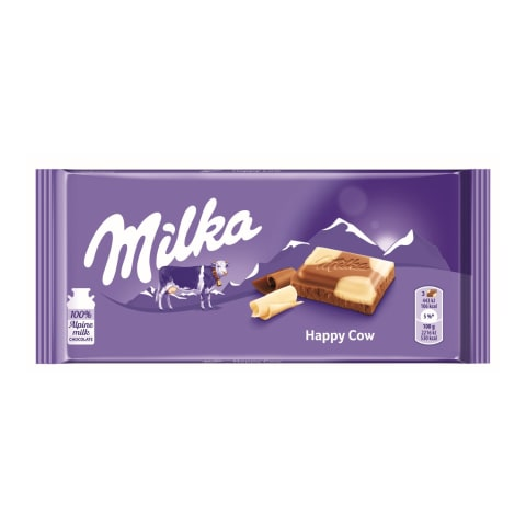 Piena šokolāde Milka Happy Cows 100g