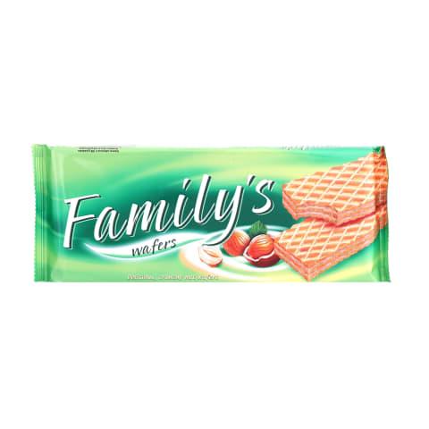 Vafeles Family`s ar riekstiem 180g