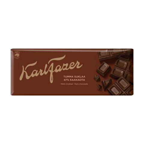 Tume šokolaad 47% Karl Fazer 200g