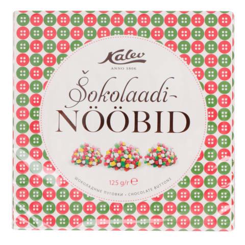 Šokolaadinööbid Kalev 125g