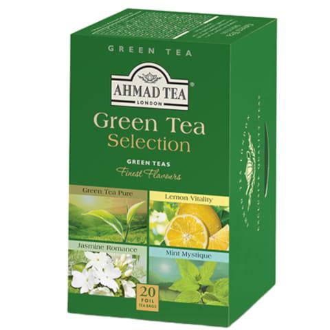 Zaļās tējas izlase Ahmad Tea 20x2g