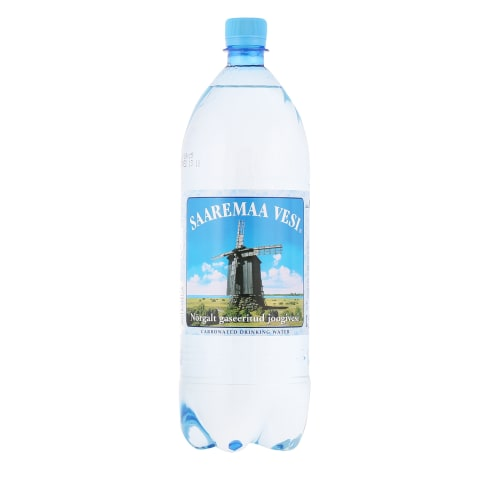 Vesi gaasiga Saaremaa 1,5l