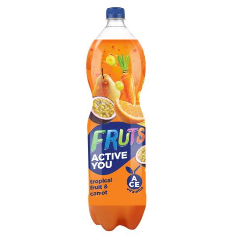Sulas dzēr. Fruts ar burkānu tropu augļu 1,5l