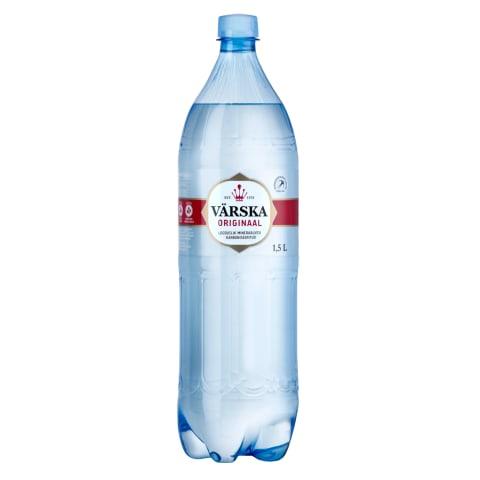 Mineraalvesi karb. Värska Originaal 1,5l