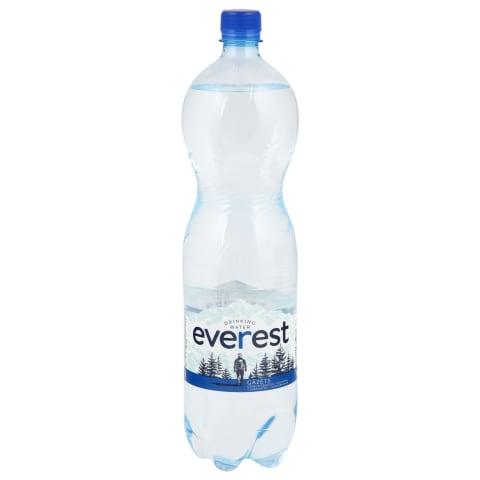 Dzeramais ūdens Everest gāzēts 1,5l