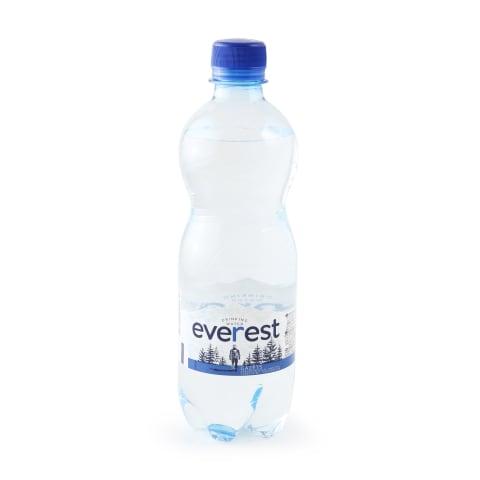 Dzeramais ūdens Everest gāzēts 0,5l